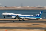 RUNWAY23.TADAさんが、羽田空港で撮影した全日空 777-381/ERの航空フォト(飛行機 写真・画像)