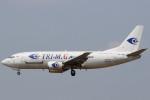 Itami Spotterさんが、クアラルンプール国際空港で撮影したトライエムジー イントラ アジア エアラインズ 737-36N(SF)の航空フォト(写真)