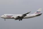 Itami Spotterさんが、クアラルンプール国際空港で撮影したシルク・ウェイ・エアラインズ 747-4H6F/SCDの航空フォト(写真)