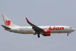Itami Spotterさんが、クアラルンプール国際空港で撮影したライオン・エア 737-8GPの航空フォト(飛行機 写真・画像)