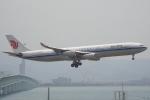 セブンさんが、関西国際空港で撮影した中国国際航空 A340-313Xの航空フォト(飛行機 写真・画像)