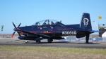 ちゃぽんさんが、アバロン空港で撮影したRaytheon T-6 Texanの航空フォト(飛行機 写真・画像)