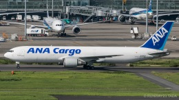 RUNWAY23.TADAさんが、羽田空港で撮影した全日空 767-381/ER(BCF)の航空フォト(飛行機 写真・画像)