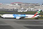 シュウさんが、羽田空港で撮影したエミレーツ航空 777-31H/ERの航空フォト(写真)
