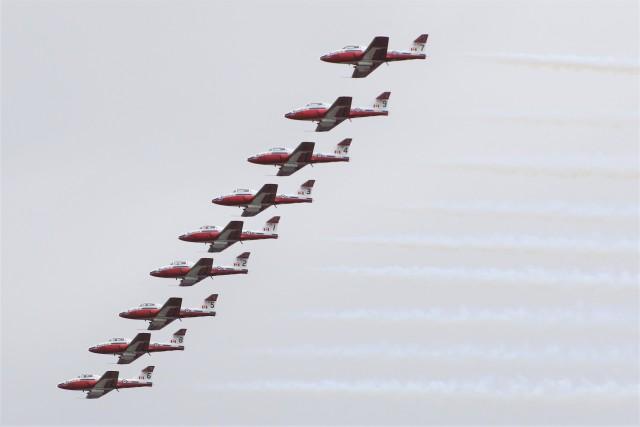 masa707さんが、ポートランド・ヒルズボロ空港で撮影したカナダ軍 CT-114 Tutor (CL-41A)の航空フォト(飛行機 写真・画像)