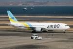 RUNWAY23.TADAさんが、羽田空港で撮影したAIR DO 767-33A/ERの航空フォト(飛行機 写真・画像)