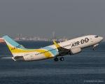 RUNWAY23.TADAさんが、羽田空港で撮影したAIR DO 737-781の航空フォト(写真)