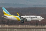 RUNWAY23.TADAさんが、新千歳空港で撮影したAIR DO 737-781の航空フォト(写真)