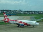 空の一つ星さんが、タンソンニャット国際空港で撮影したエアアジア A320-216の航空フォト(写真)