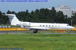 Chofu Spotter Ariaさんが、成田国際空港で撮影したウェルズ・ファーゴ・バンク・ノースウェスト G-V-SP Gulfstream G550の航空フォト(飛行機 写真・画像)