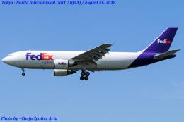 Chofu Spotter Ariaさんが、成田国際空港で撮影したフェデックス・エクスプレス A300F4-605Rの航空フォト(飛行機 写真・画像)