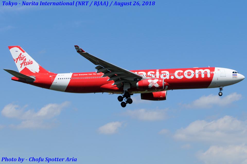 Chofu Spotter Ariaさんのタイ・エアアジア・エックス Airbus A330-300 (HS-XTC) 航空フォト