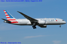 Chofu Spotter Ariaさんが、成田国際空港で撮影したアメリカン航空 787-8 Dreamlinerの航空フォト(写真)