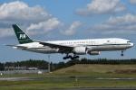 shimashimaさんが、成田国際空港で撮影したパキスタン国際航空 777-2Q8/ERの航空フォト(写真)