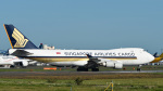 パンダさんが、成田国際空港で撮影したシンガポール航空カーゴ 747-412F/SCDの航空フォト(写真)