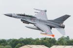 Tomo-Papaさんが、フェアフォード空軍基地で撮影したデンマーク空軍 F-16BM Fighting Falconの航空フォト(写真)