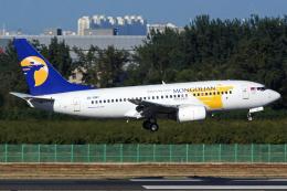 航空フォト:JU-1087 MIATモンゴル航空 737-700