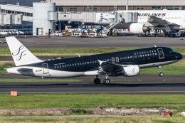 RUNWAY23.TADAさんが、羽田空港で撮影したスターフライヤー A320-214の航空フォト(写真)
