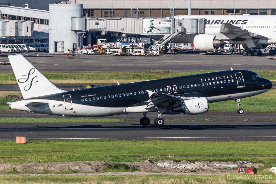 RUNWAY23.TADAさんのスターフライヤー Airbus A320 (JA08MC) 航空フォト