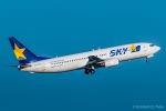 RUNWAY23.TADAさんが、羽田空港で撮影したスカイマーク 737-8HXの航空フォト(写真)