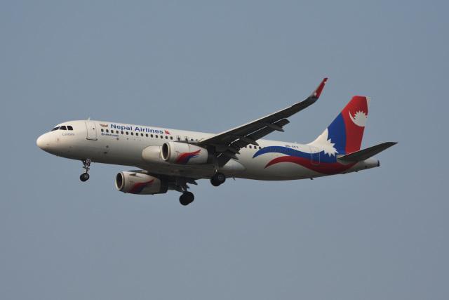 Kilo Indiaさんが、チャトラパティー・シヴァージー国際空港で撮影したネパール航空 A320-233の航空フォト(飛行機 写真・画像)