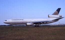 kumagorouさんが、仙台空港で撮影したコンチネンタル航空 DC-10-30の航空フォト(飛行機 写真・画像)
