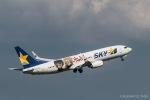 RUNWAY23.TADAさんが、羽田空港で撮影したスカイマーク 737-86Nの航空フォト(飛行機 写真・画像)