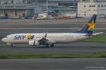 RUNWAY23.TADAさんが、羽田空港で撮影したスカイマーク 737-81Dの航空フォト(飛行機 写真・画像)