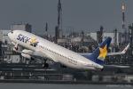 RUNWAY23.TADAさんが、羽田空港で撮影したスカイマーク 737-8FHの航空フォト(飛行機 写真・画像)