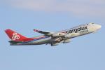 キイロイトリさんが、関西国際空港で撮影したカーゴルクス・イタリア 747-4R7F/SCDの航空フォト(写真)