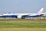 さくらの城南山。さんが、成田国際空港で撮影したチャイナエアライン 777-309/ERの航空フォト(飛行機 写真・画像)