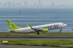RUNWAY23.TADAさんが、羽田空港で撮影したソラシド エア 737-86Nの航空フォト(写真)