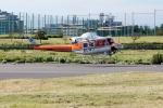 あきらっすさんが、調布飛行場で撮影した和歌山県防災航空隊 412EPの航空フォト(飛行機 写真・画像)