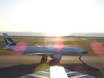 HNDマンさんが、中部国際空港で撮影したキャセイパシフィック航空 777-267の航空フォト(写真)