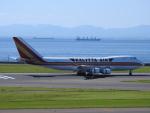 HNDマンさんが、中部国際空港で撮影したカリッタ エア 747-2B4BM(SF)の航空フォト(写真)