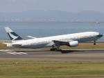 6500さんが、中部国際空港で撮影したキャセイパシフィック航空 777-267の航空フォト(写真)