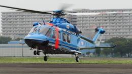 pelugaさんが、立川飛行場で撮影した警視庁 AW139の航空フォト(飛行機 写真・画像)