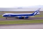 yabyanさんが、中部国際空港で撮影したエアブリッジ・カーゴ・エアラインズ 747-8HVFの航空フォト(写真)