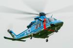 NCT310さんが、立川飛行場で撮影した警視庁 AW139の航空フォト(写真)