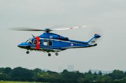 NCT310さんが、立川飛行場で撮影した警視庁 AW139の航空フォト(飛行機 写真・画像)