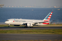 杏奈さんが、羽田空港で撮影したアメリカン航空 787-8 Dreamlinerの航空フォト(飛行機 写真・画像)