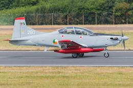 Tomo-Papaさんが、フェアフォード空軍基地で撮影したアイルランド空軍 PC-9Mの航空フォト(飛行機 写真・画像)