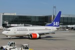 BTYUTAさんが、フランクフルト国際空港で撮影したスカンジナビア航空 737-783の航空フォト(写真)