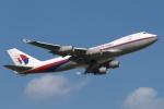 木人さんが、成田国際空港で撮影したマレーシア航空 747-4H6F/SCDの航空フォト(写真)
