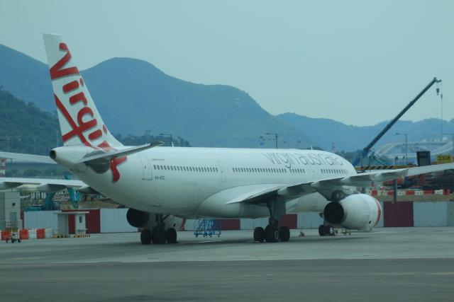 ヴァージン・オーストラリア Airbus A330-200 VH-XFC 香港国際空港  航空フォト   by NH642さん