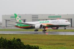 KIMISTONERさんが、台湾桃園国際空港で撮影したエバー航空 787-9の航空フォト(写真)