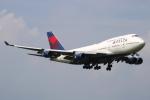NANASE UNITED®さんが、成田国際空港で撮影したデルタ航空 747-451の航空フォト(写真)
