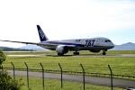 くれないさんが、岡山空港で撮影した全日空 787-8 Dreamlinerの航空フォト(飛行機 写真・画像)