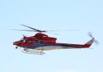 タミーさんが、小松空港で撮影した石川県消防防災航空隊 412EPの航空フォト(写真)