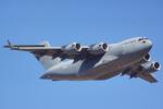 ちゃぽんさんが、アバロン空港で撮影したアメリカ空軍 C-17A Globemaster IIIの航空フォト(飛行機 写真・画像)